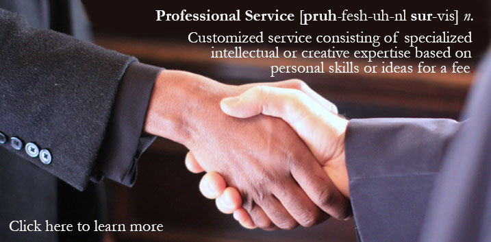 Professional Services Handshake